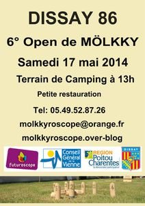 6° open de Mölkkyroscope