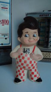 Figurine- tirelire Big Boy 1973