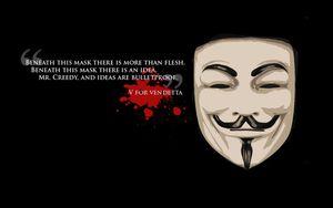 V pour Vendetta...