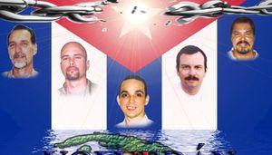 Les cinq antiterroristes cubains rendent hommage aux combattants internationalistes tombés en Afrique