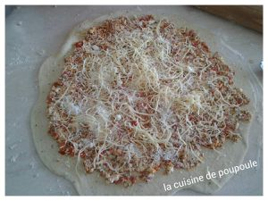 Pizzas roulèes aux fromages au thermomix