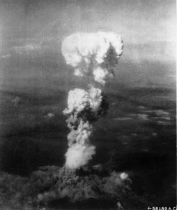 Atomic Cloud over Hiroshima Credit:wikimedia commons