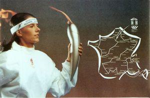 Il y a 24 ans, la flamme olympique arrivait à Aéroports de Paris