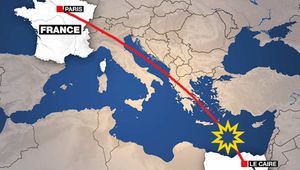 Disparition du vol EgyptAir MS804