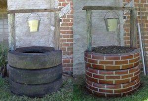 recycler de vieux pneus