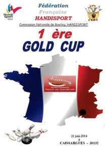 Diaporama 1ère Gold Cup Handisport Bowling Caissargues