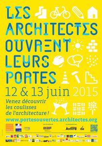 Les architectes ouvrent leurs portes les 12 et 13 juin 2015