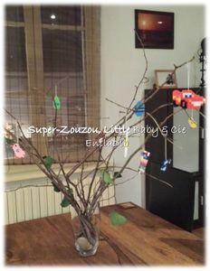 Notre arbre de Pâques…