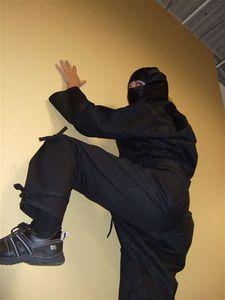 Vas-y en mode Ninja