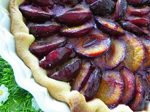 TARTE AUX PRUNES (thermomix)