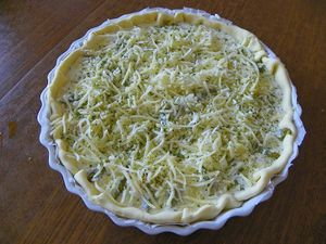 QUICHE CREVETTES ASPERGES EXPRESS (thermomix)