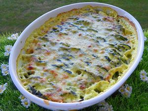 GRATIN DE COURGETTE (Thermomix)