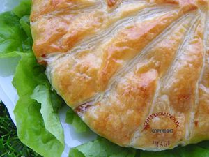 FEUILLETE AU CAMEMBERT (thermomix)