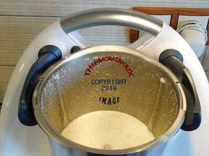 SAUMON SAUCE CONCOMBRE (thermomix)