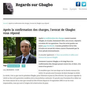 Regards sur Gbagbo / Après la confirmation des charges son avocat vous répond