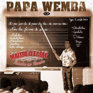 Alain Mabanckou corrige le Maître d'école Papa Wemba