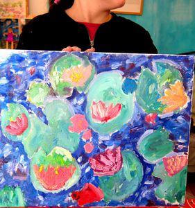 Un bel atelier anniversaire ce 25 février ! Monet