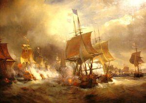 1778. la bataille de Ouessant