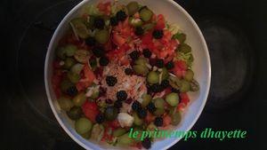 salade aux mûres facile