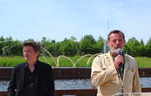 Jean-Michel Othoniel et Louis Benech © Versailles in my pocket