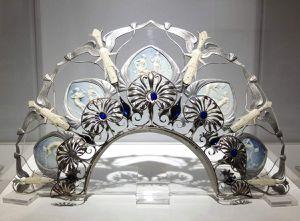 Diadème de René Lalique © Corinne Martin-Rozès