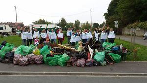 World Cleanup Day in Roubaix