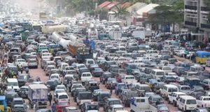 © Flux routier en pleine Antananarivo
