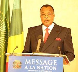 Message de Denis Sassou N'Guesso sur le référedum