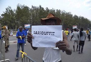 @Archives-Manifestation du 27 Septembre à Brazzaville