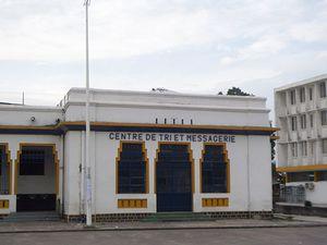 @Centre de poste à Brazzaville