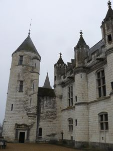 Logis Royal de Loches (© F. Doucet)
