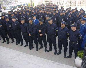 Sit in et marche des policiers à Ghardaïa