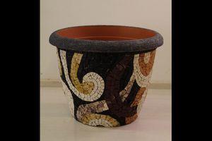 Mosaico nel vaso