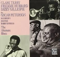 Dizzy Gillespie with Freddie Hubbard and Clark Terry: THE ALTERNATE BLUES