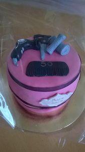 cake design coiffeuse