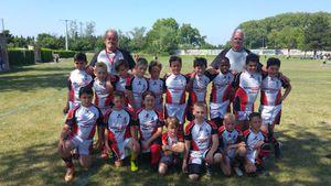 L'effectif présent pour affonter les équipes de poule lors du tournoi régional en Avignon le 28 mai 2016