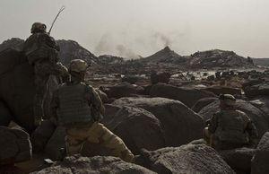Des soldats français de l'opération Barkhane. © Ministère de la Défense (Mediapart)