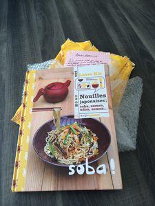 Nouilles japonaises ... , livre de recettes de Laure KIE