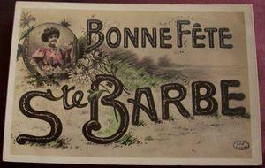 4 décembre: Sainte-Barbe