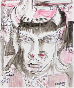 Un tableau de Claude Nougaro acheté lors des Rencontres de Maubourguet vendu aux enchères