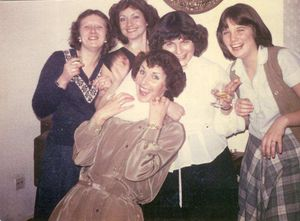Joyce, Sally, Christine, etc