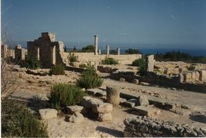 1992 juillet Escapade à Chypre