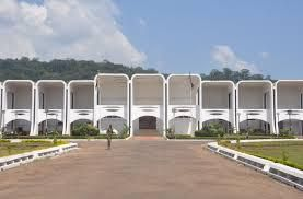 Le Palais de la Renaissance à Bangui