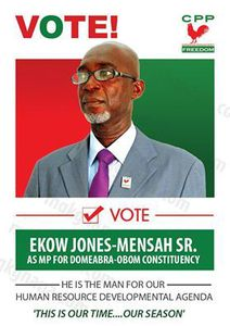 Aspiring for Domeabra-Obom Constituency on the Ticket of CPP