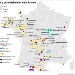 Des sociétés cherchent de l'or et des métaux stratégiques en France