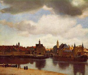 Vermeer - Vu de Delft 1660-1661