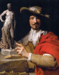 Portrait de Nicolas Le Brun - huile sur toile - Salzburg