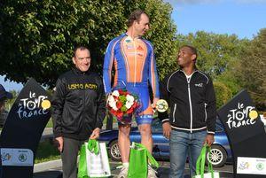 """Le podium des """"GS""""&#x3B; 1er Michel GOUPIL (ECNP93)."""