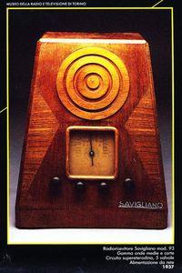 ricevitore radio 1937