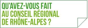 Les élus EELV de Rhône-Alpes font le point